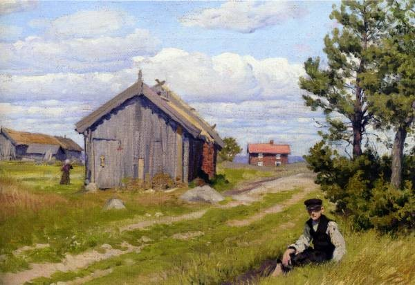 Paul Fischer Landidyl Farmyard